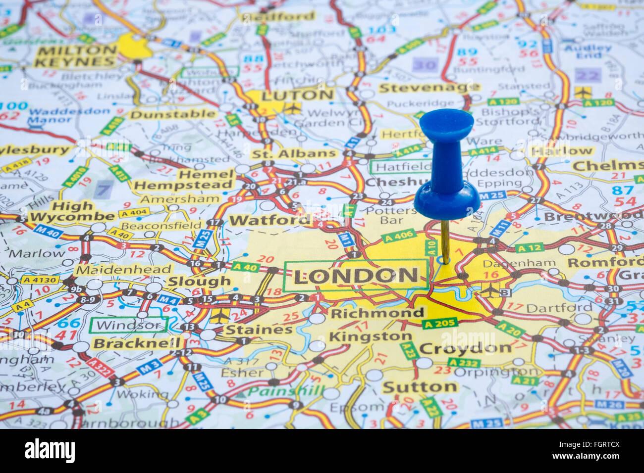 London Map Stock Photos London Map Stock Images Alamy