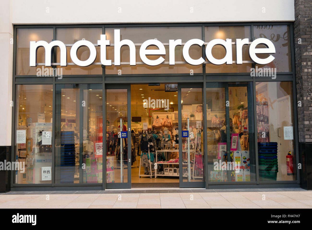 Mothercare store, UK. Stock Photo