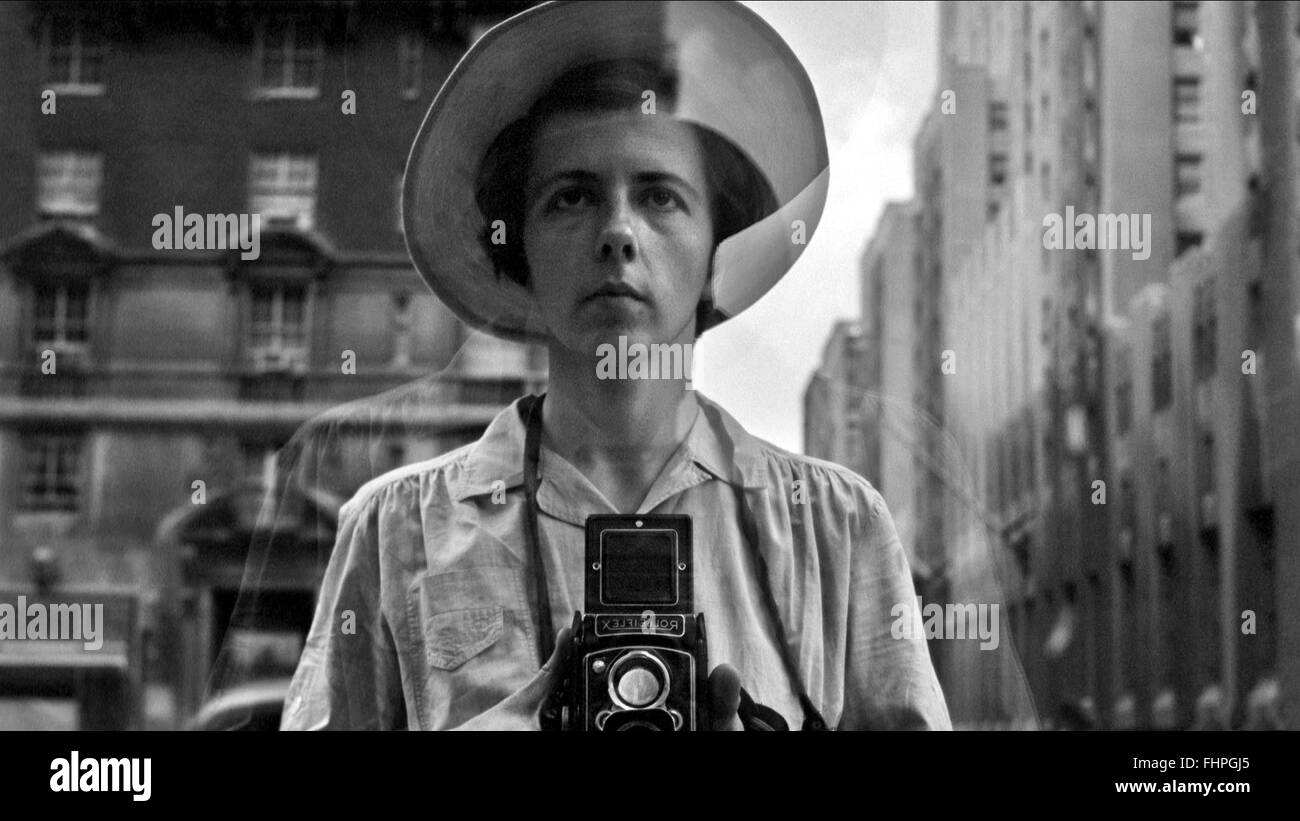 VIVIAN MAIER FINDING VIVIAN MAIER (2013) Stock Photo