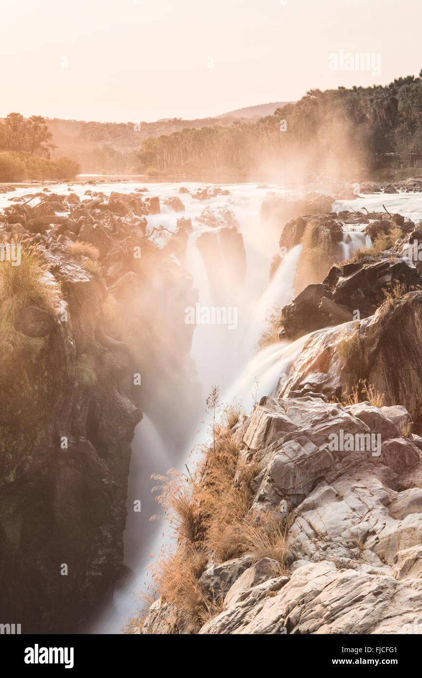 Epupa Waterfall - Stock Image
