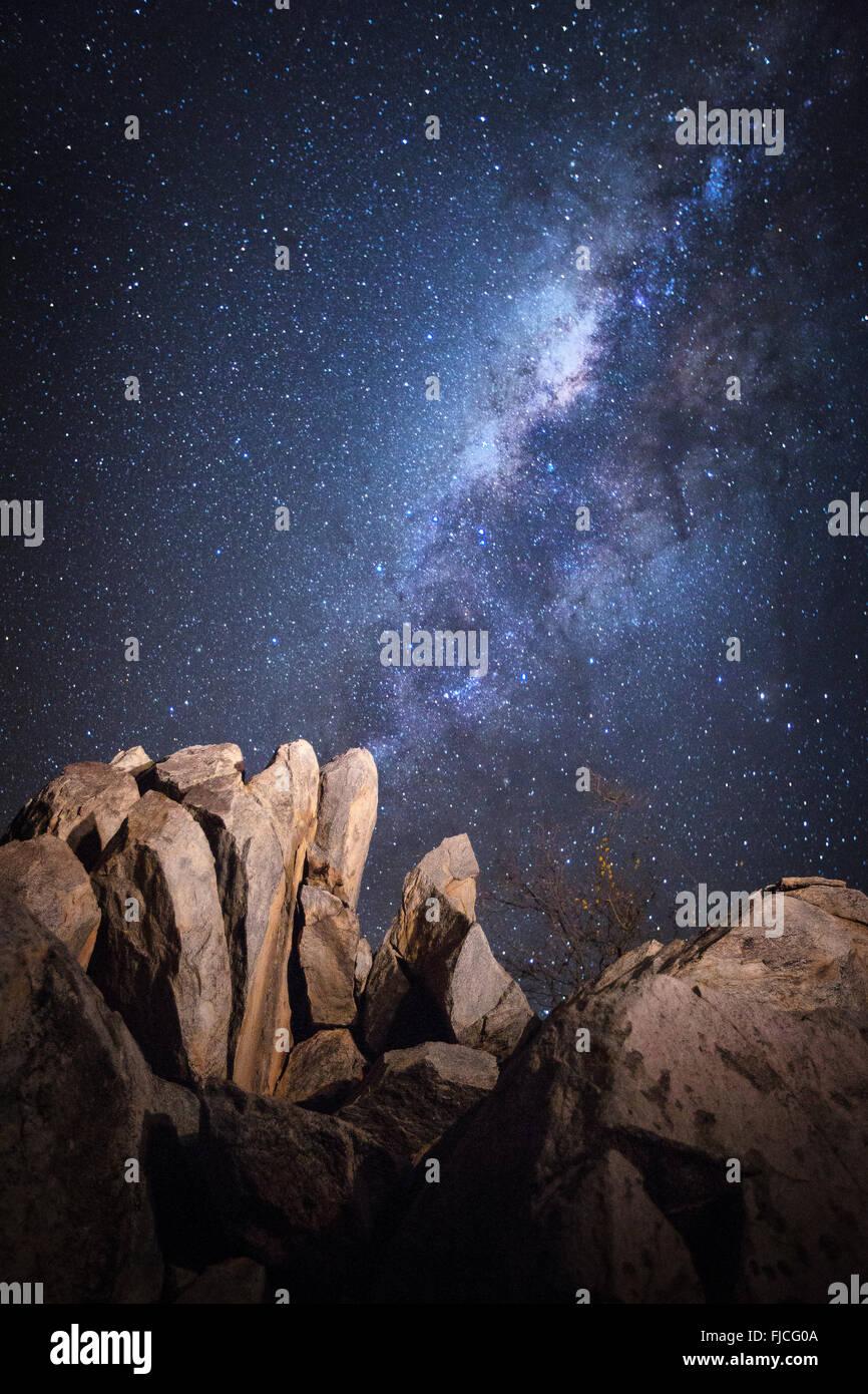 Night scene. - Stock Image