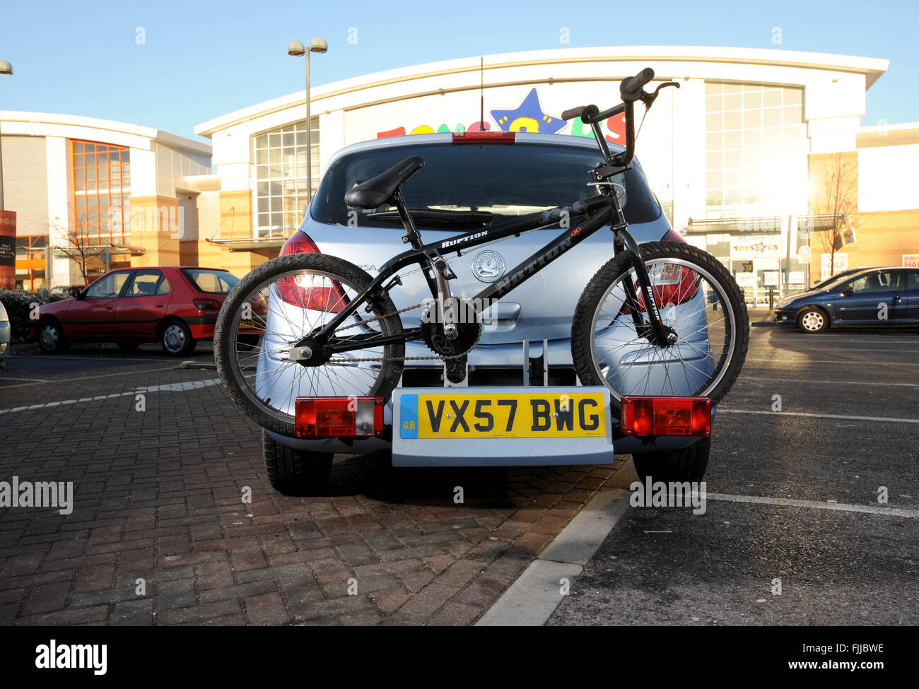 Bicycle Carrier Stock Photos Amp Bicycle Carrier Stock