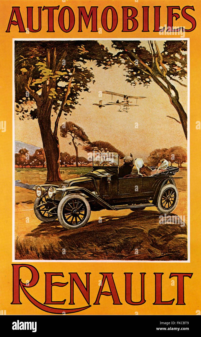 UK Renault Magazine Advert - Stock Image
