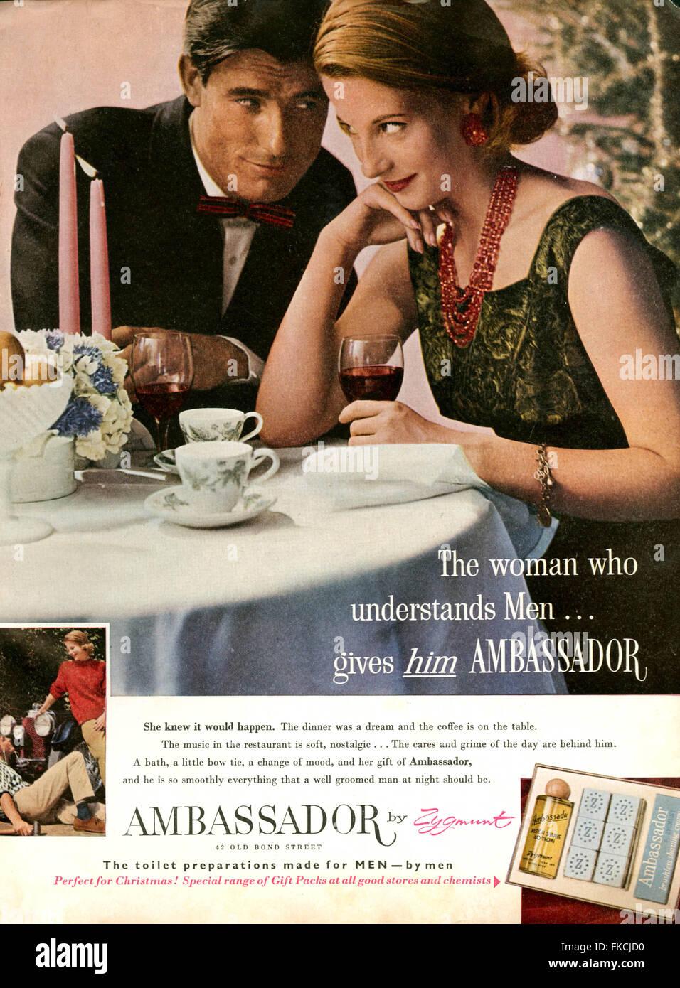 2010s UK  Magazine Advert - Stock Image