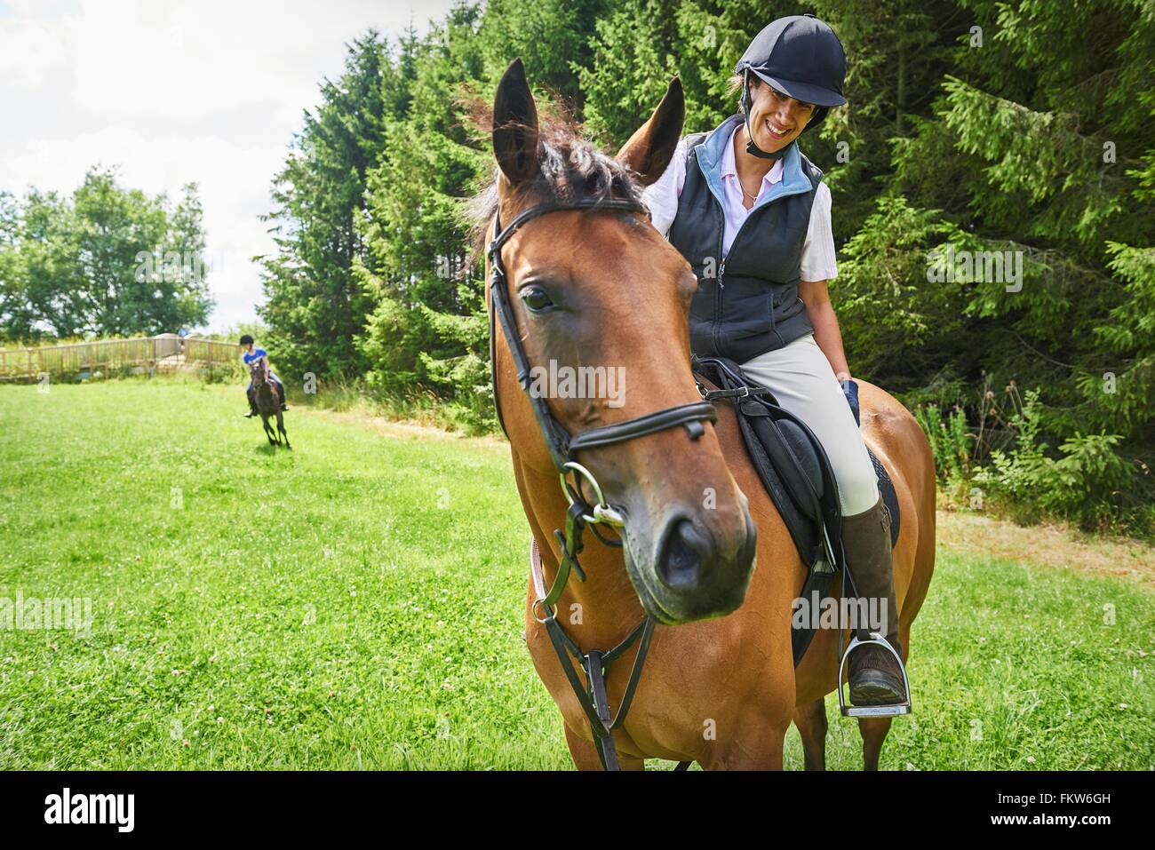 horse riding boots stock photos & horse riding boots stock images