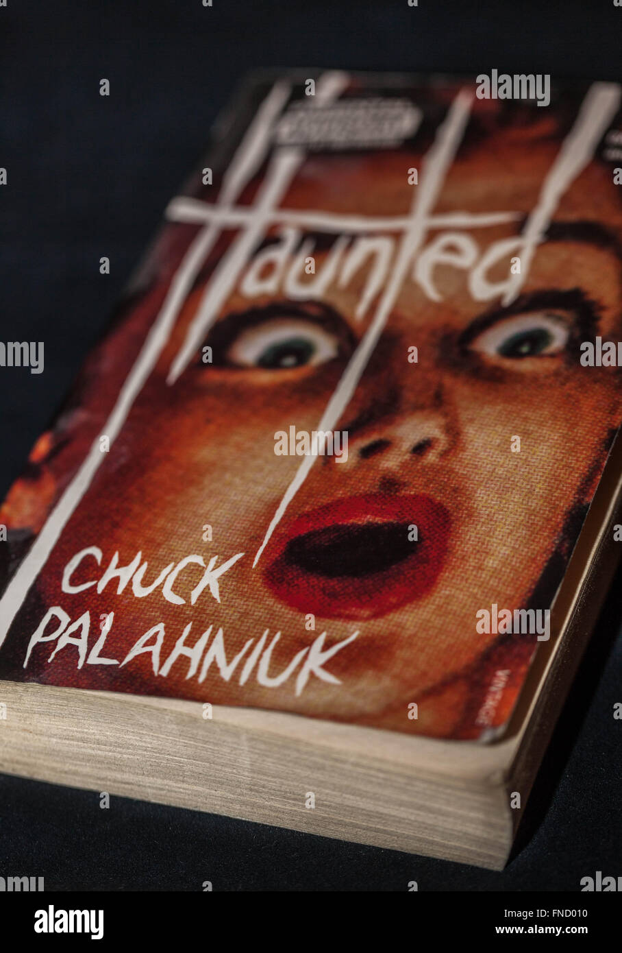 Cover of the book Haunted by Chuck Palahniuk - Stock Image