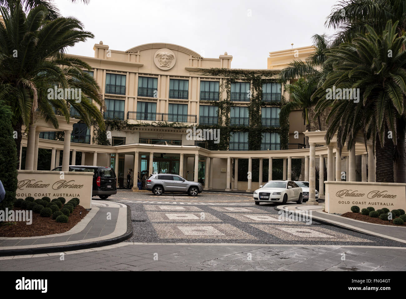 The 5 Star Palace Versace On Seaward Drive Main Beach On The Gold