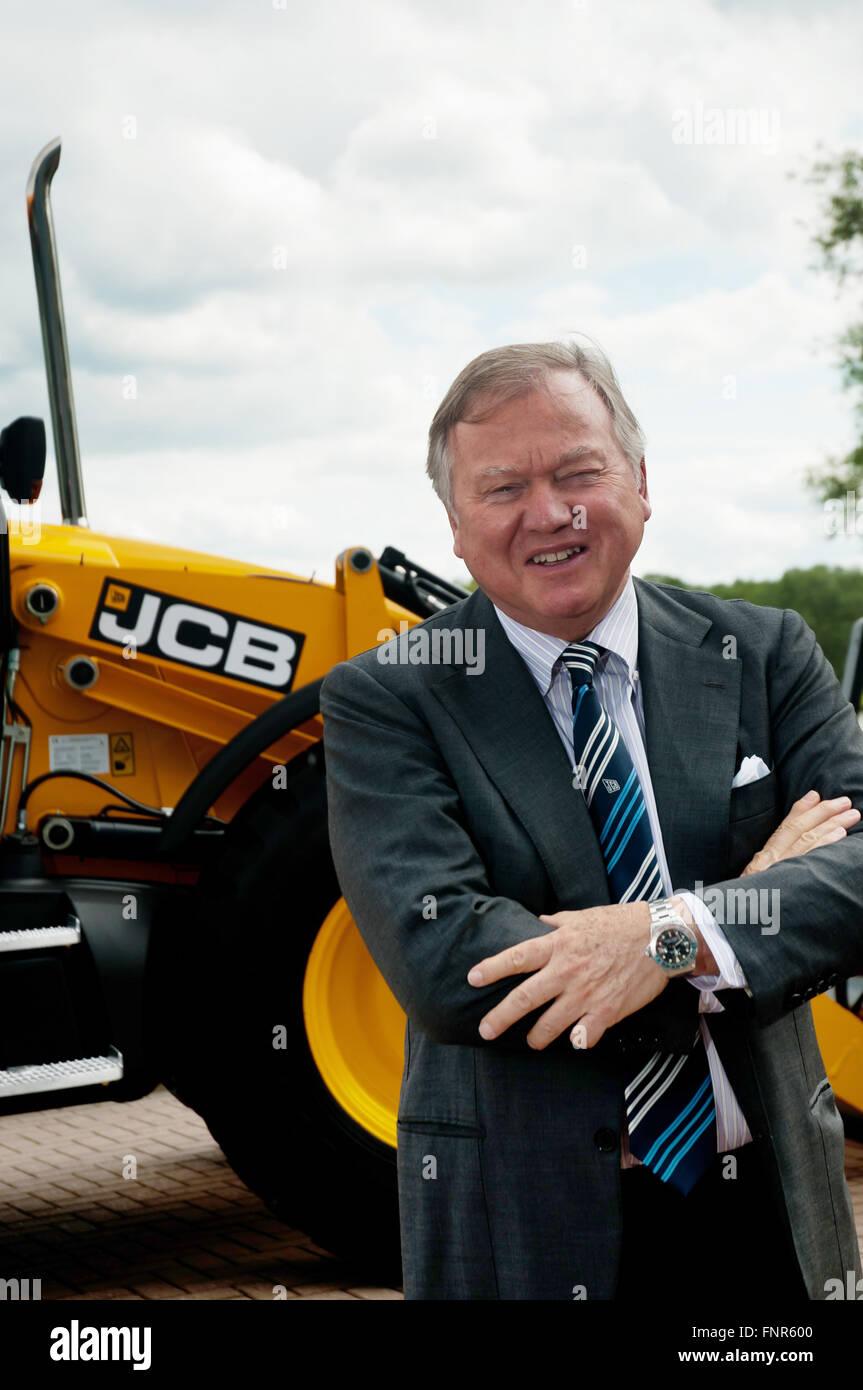 Anthony Paul Bamford, Chairman of JCB - Stock Image