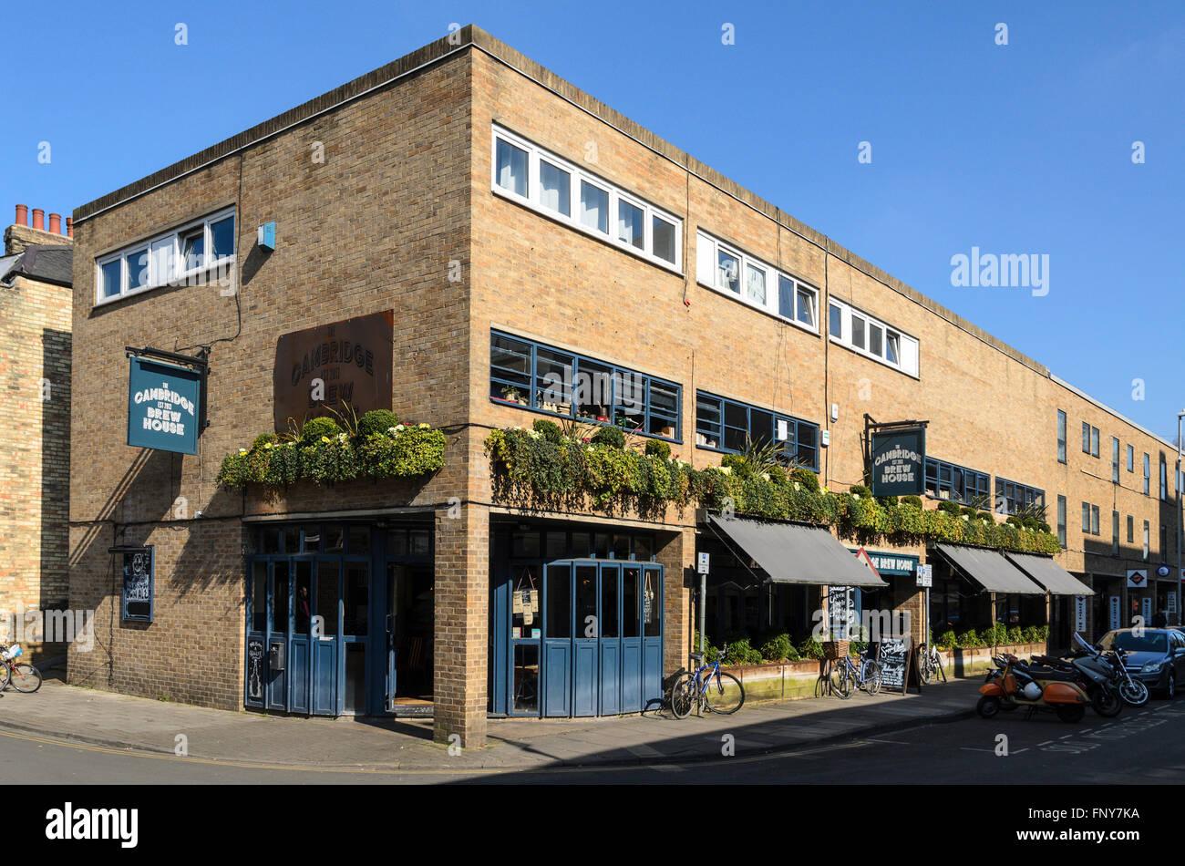 The Cambridge Brew House, Cambridge, England, UK. Stock Photo