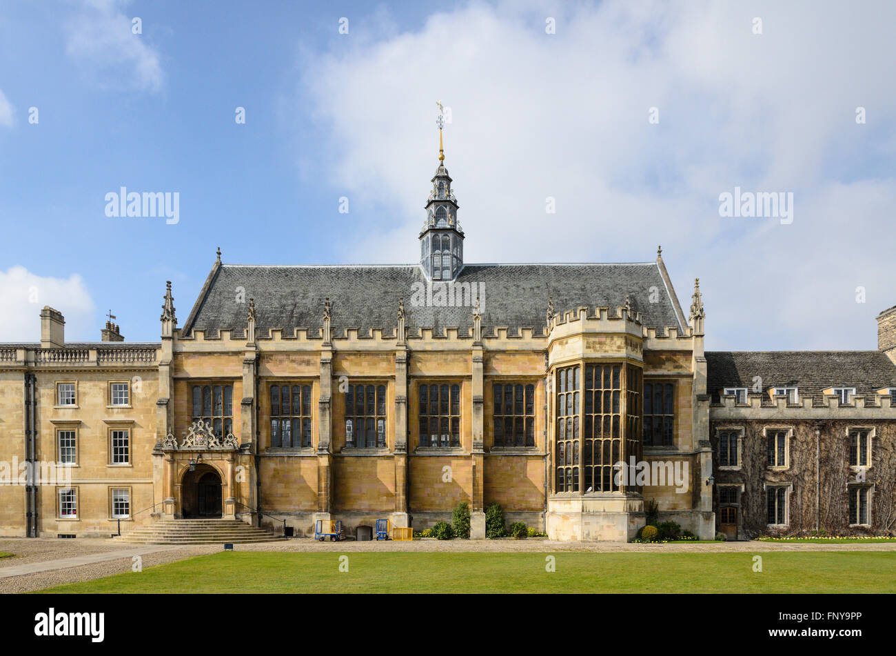 Trinity College, University of Cambridge, Cambridge, England, UK. Stock Photo