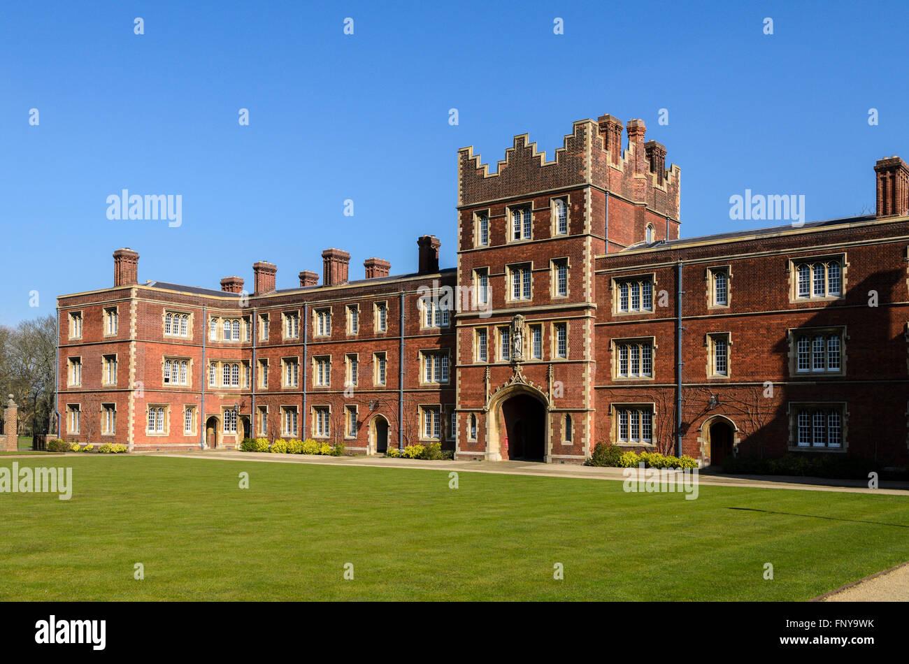 Jesus College, University of Cambridge, Cambridge, England, UK. Stock Photo