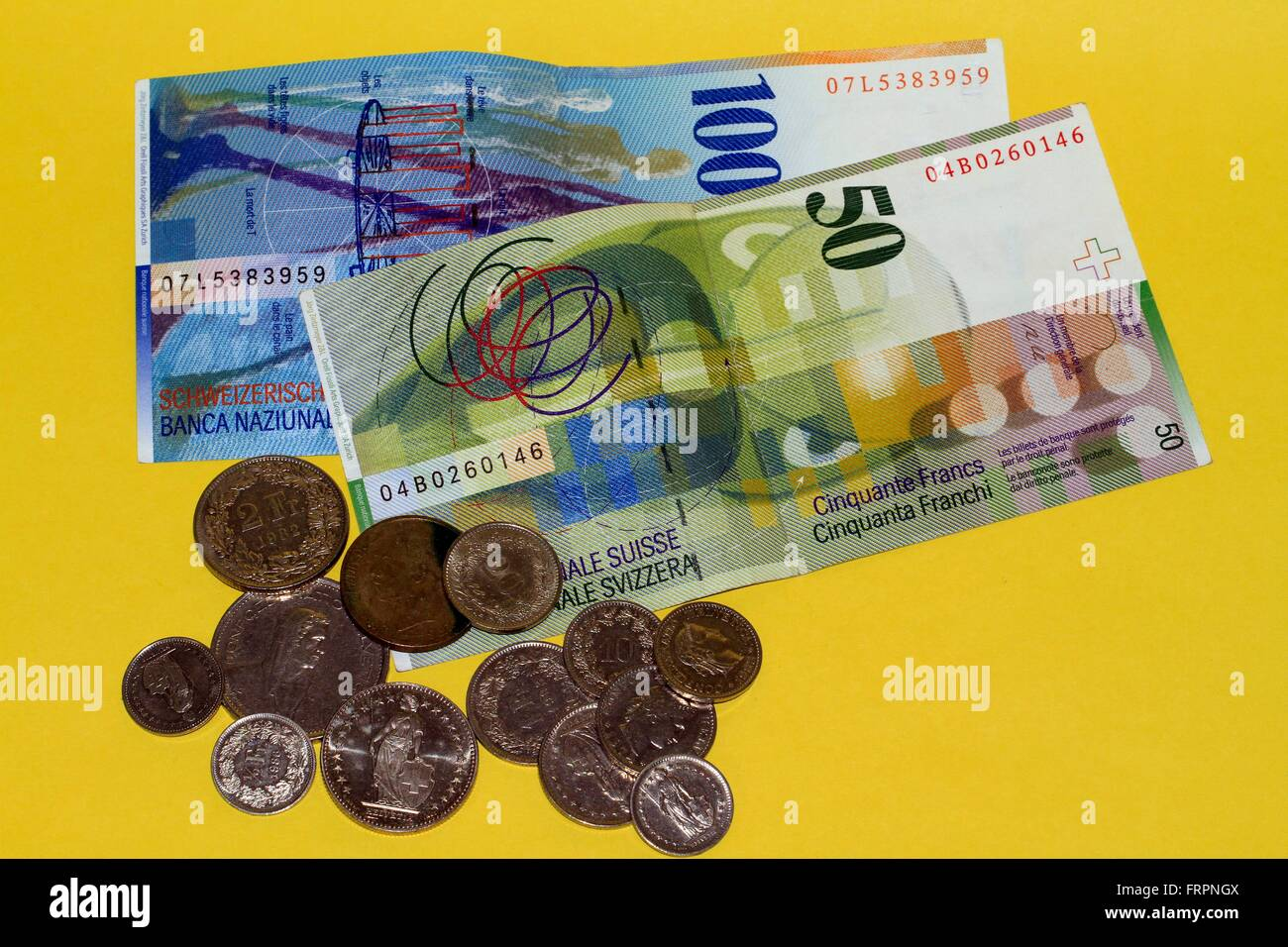 The Swiss Franc Is The Currency Of Switzerland And Liechtenstein It