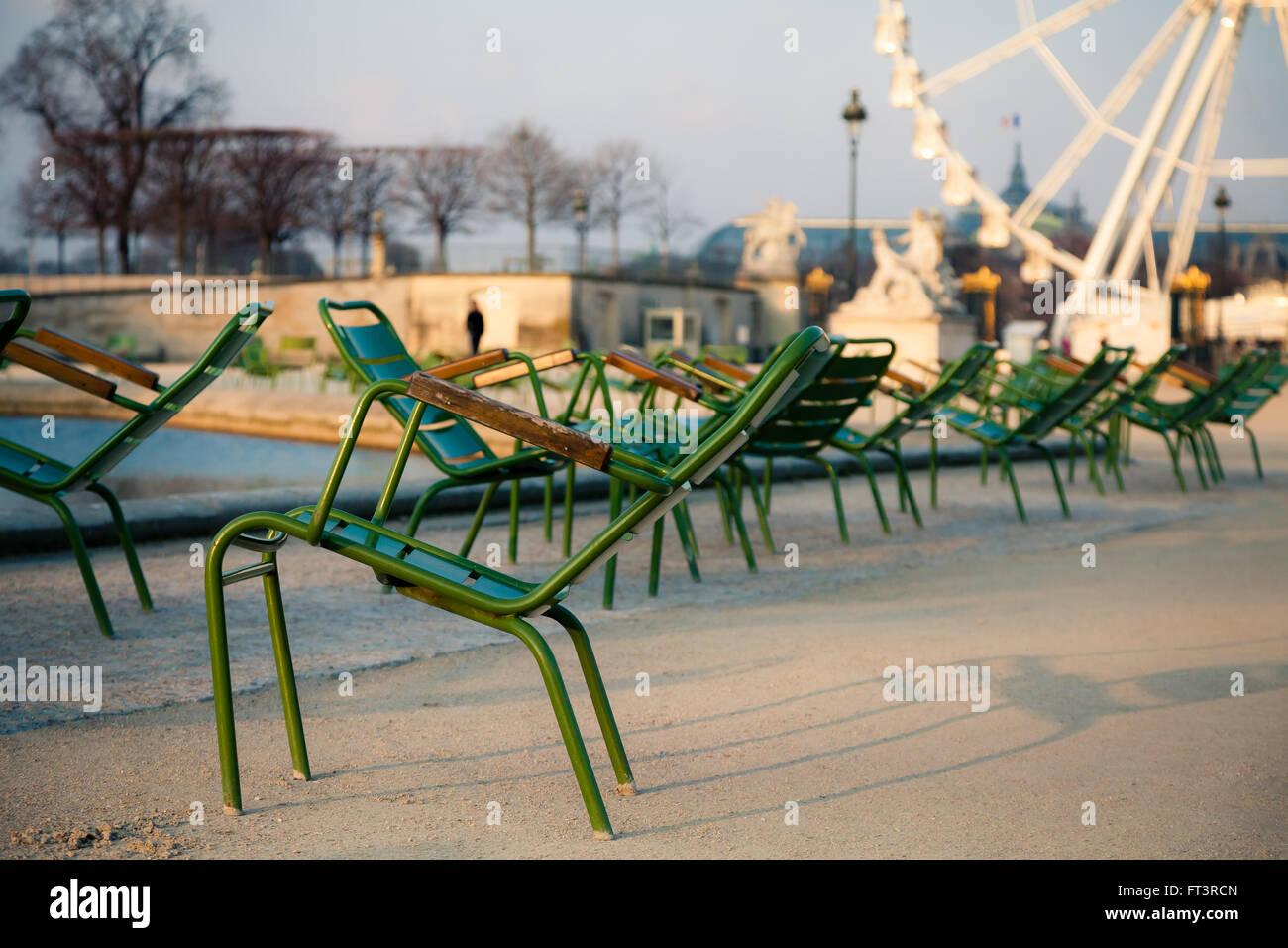 Tuileries Garden - Stock Image