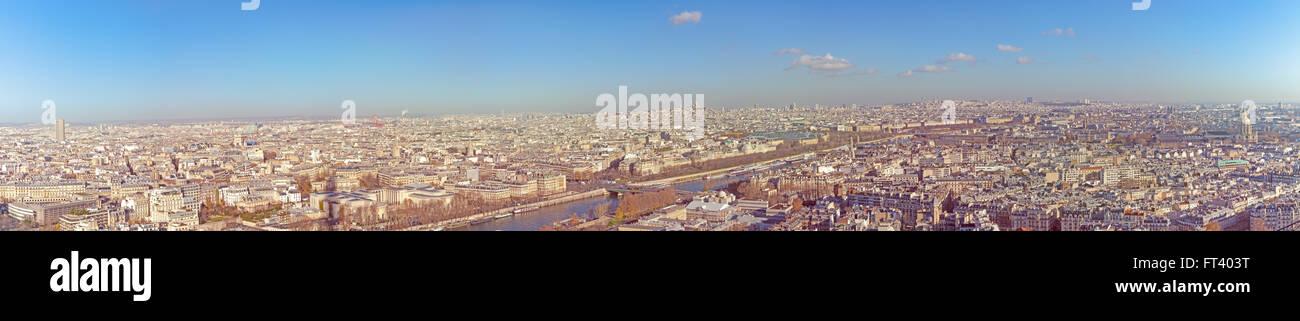 Paris panorama - Stock Image