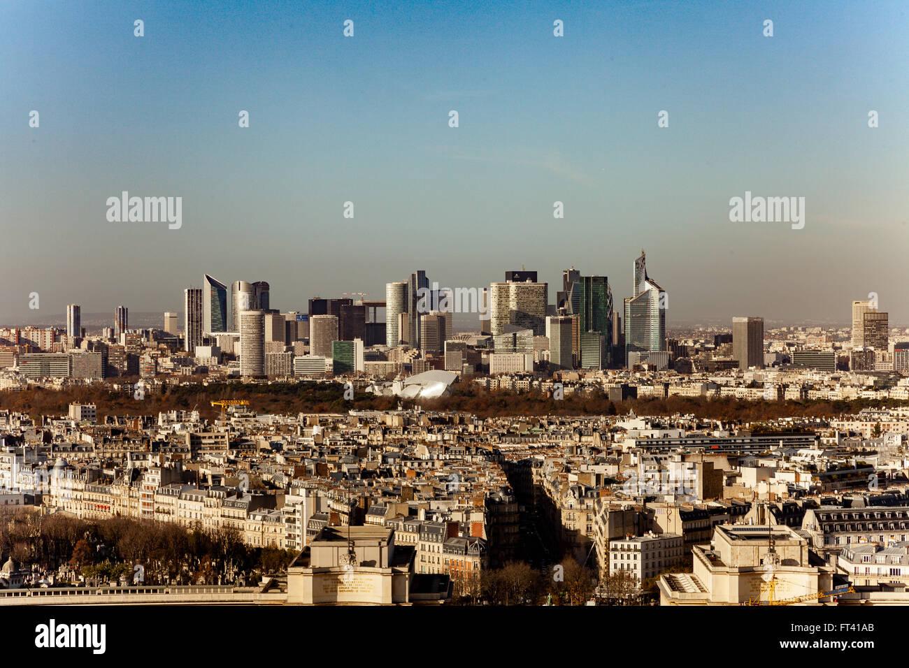 Paris La Défense - Stock Image