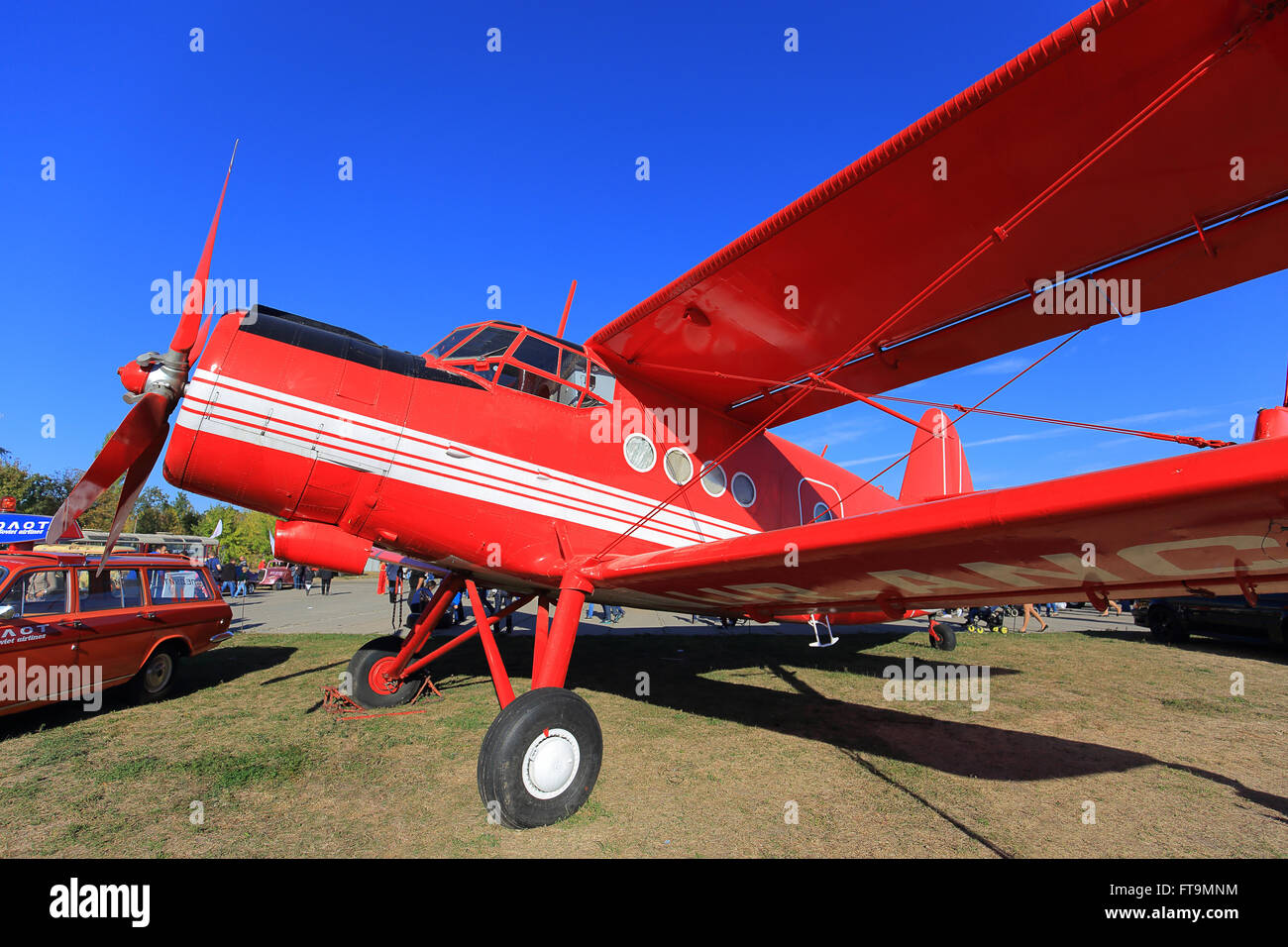 Biplane Antonov An-2 - Stock Image