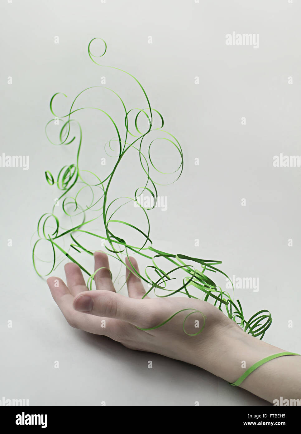 Paper Elements: Earth - Stock Image