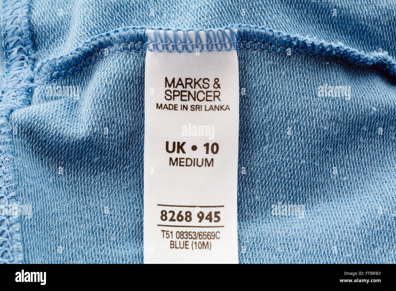 marks and spencer clothing label sewn inside a garment Clothing Company Logos Car Brand Logos and Names