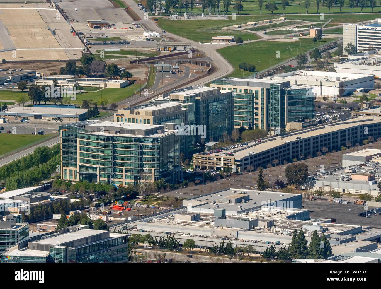 Google Tech corner, Motorola Verwaltung USA, , Silicon Valley, Kalifornien, Vereinigte Staaten von Amerika, Santa - Stock Image