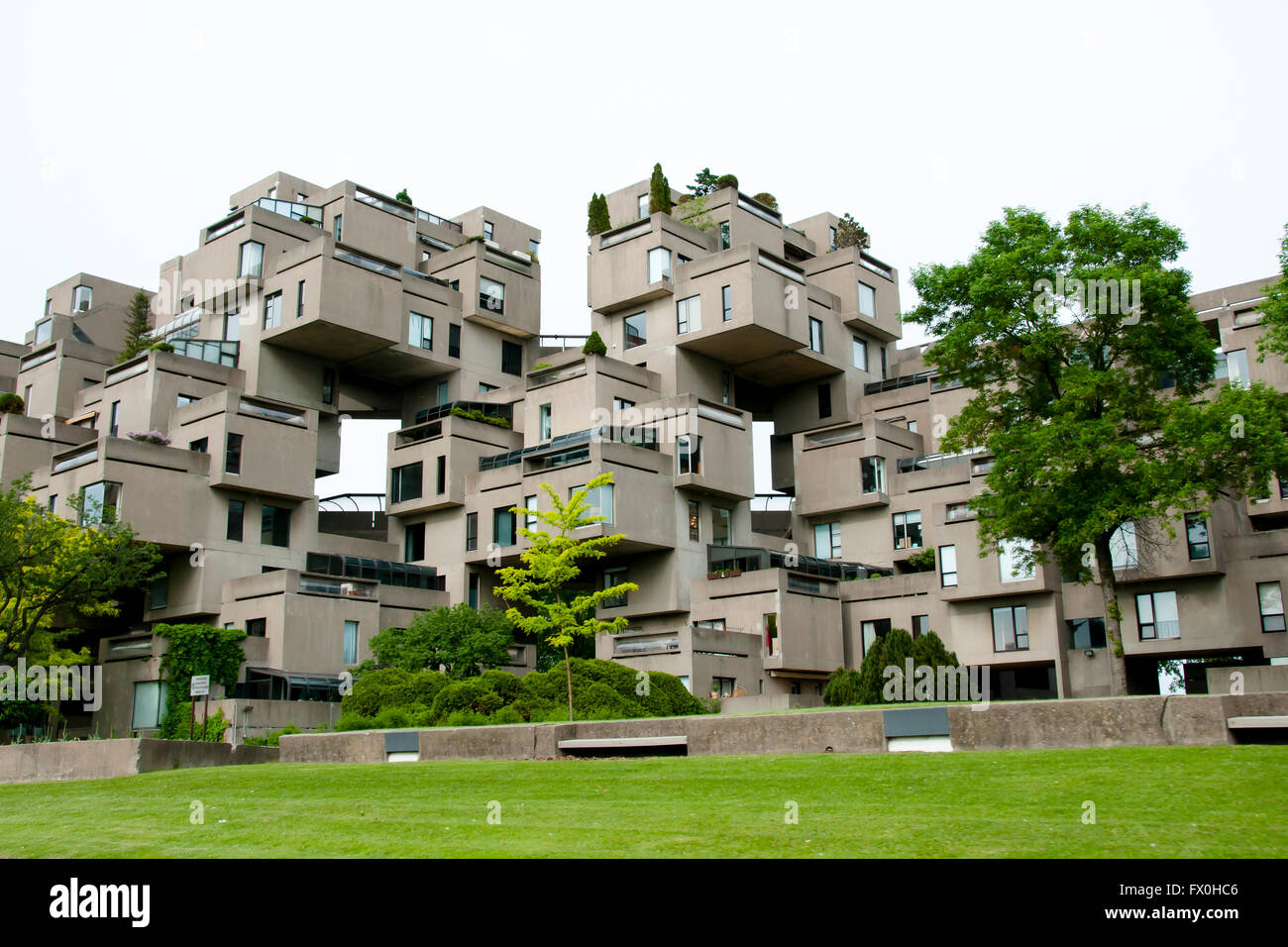 Public Apartments - Montreal - Canada - Stock Image
