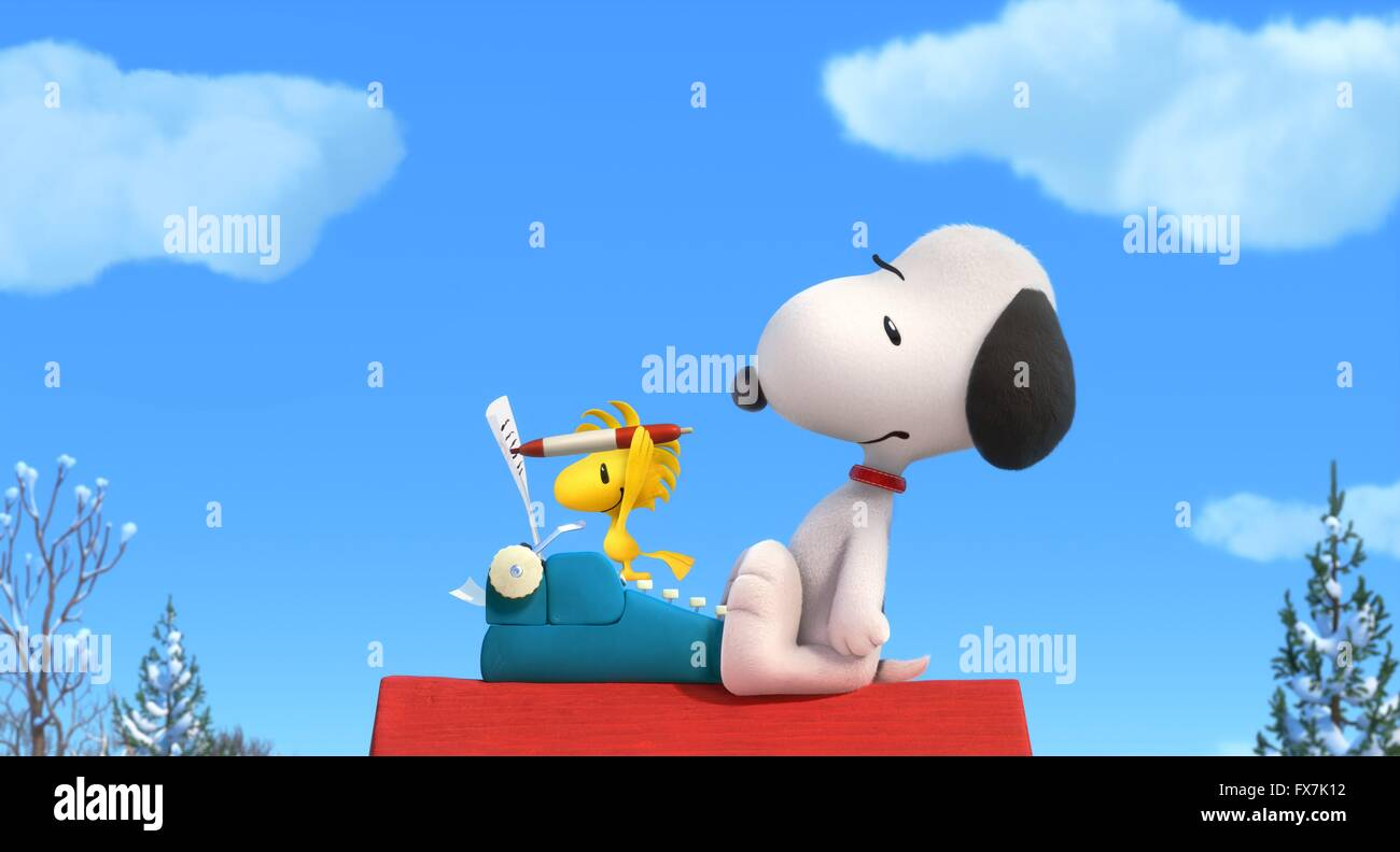 The Peanuts Movie Year : 2015 USA Director : Steve Martino Animation Stock Photo