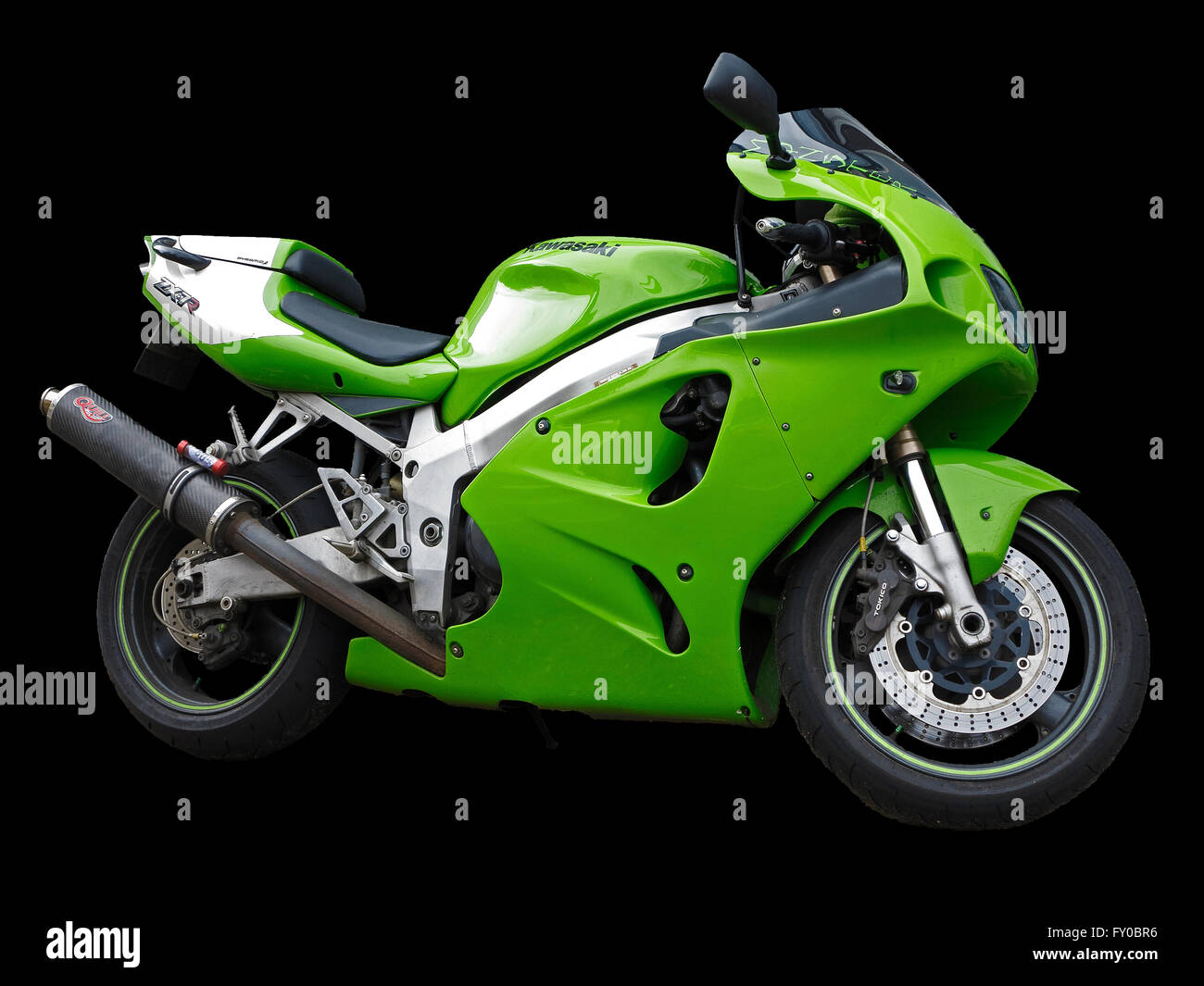 green-japanese-motor-bike-cutout-on-black-background-see-also-cxed3x-FY0BR6.jpg