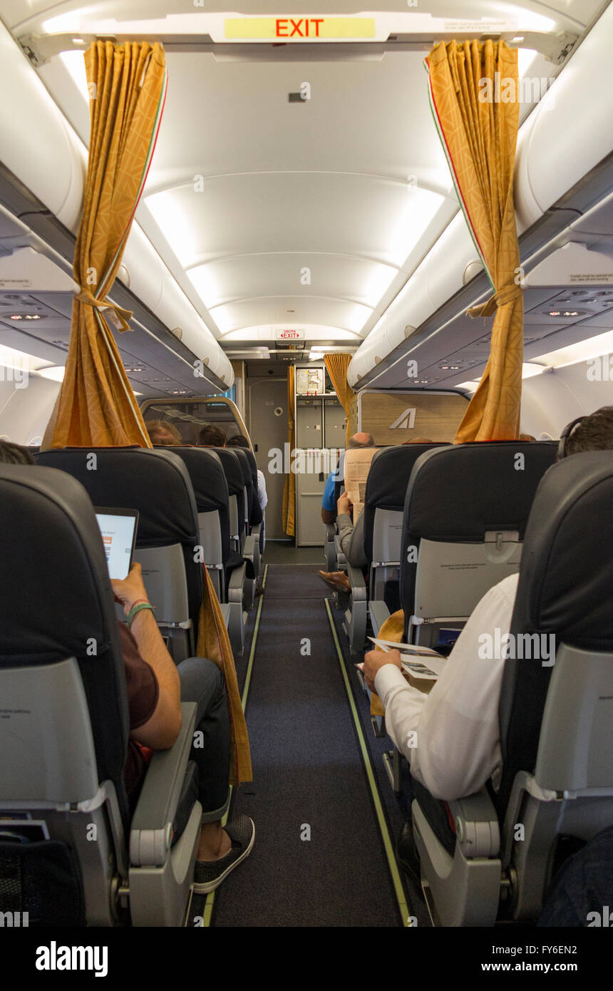 Curtains Curtain Between Economy Passengers From Business Class On Airbus  Passenger Aircraft Air Craft Plane Airplane Aeroplane