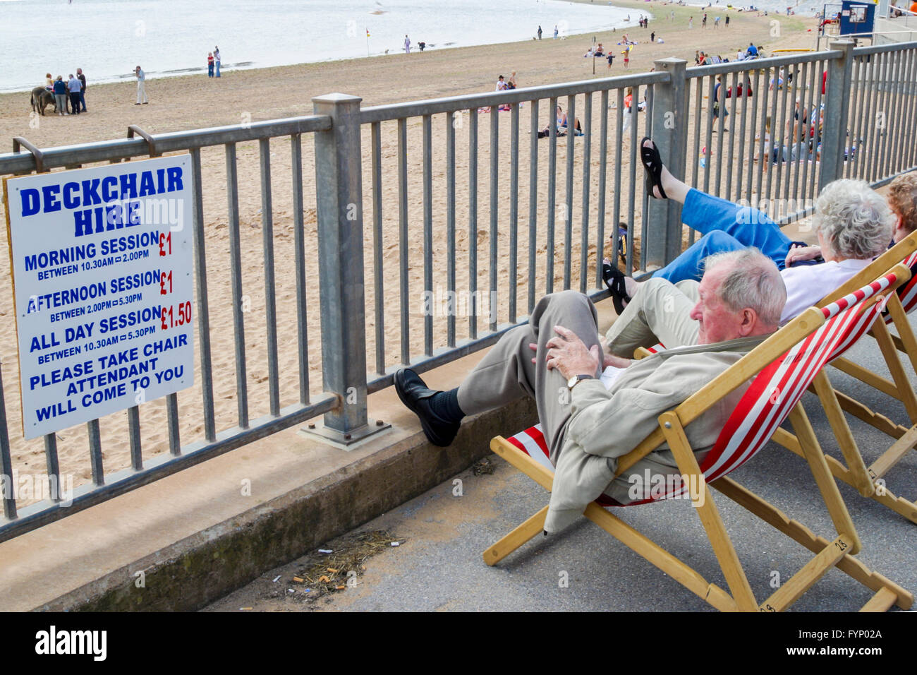 Deckchair For Hire Stock Photos Amp Deckchair For Hire Stock