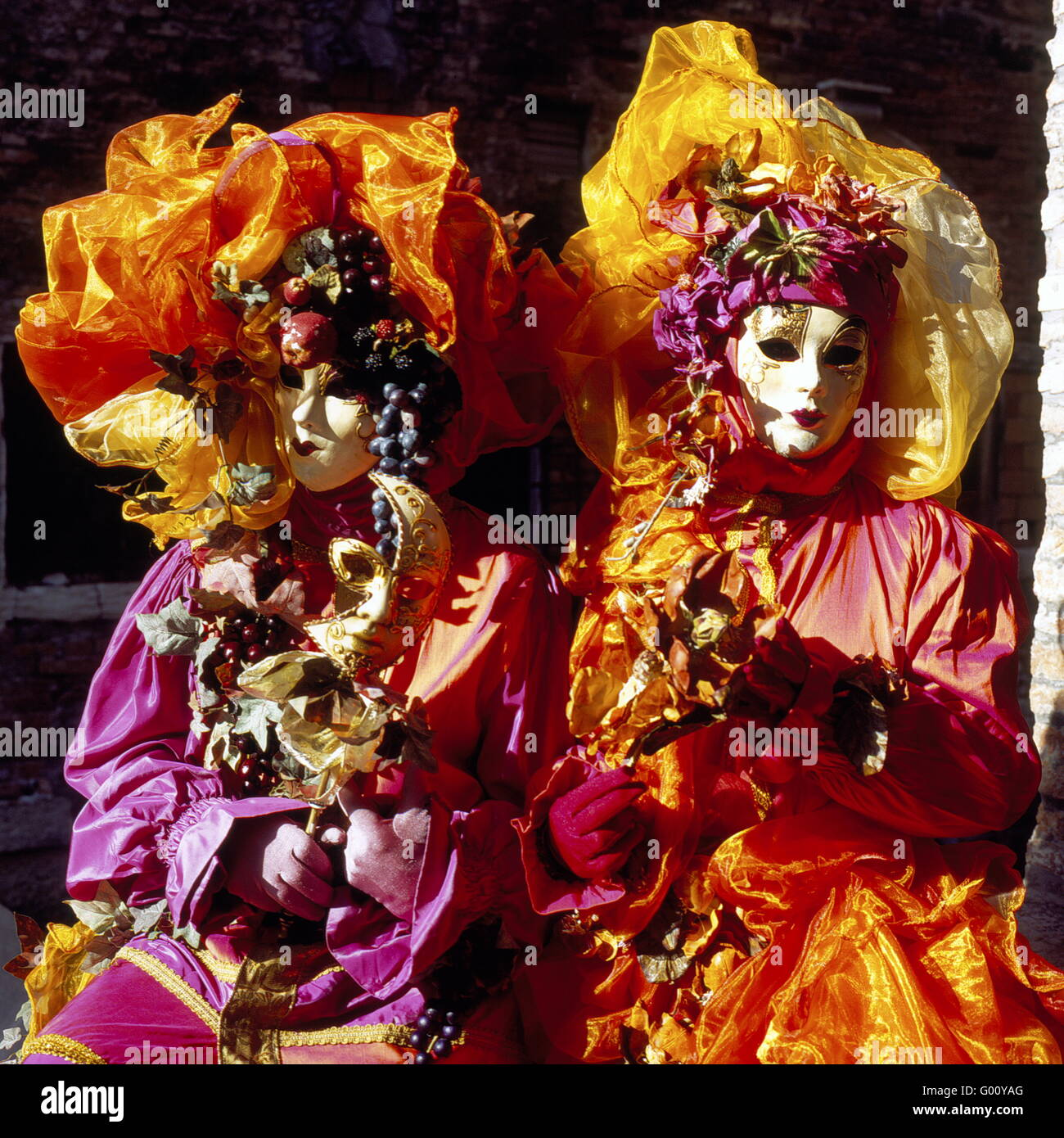 Carneval at Venice, Italy - Stock Image