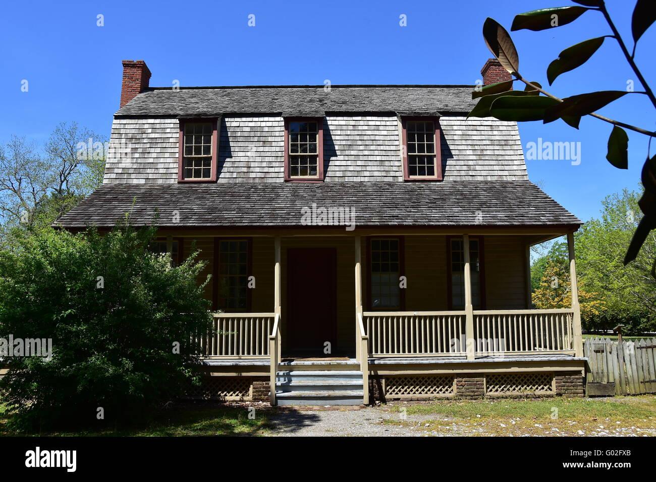 Bath North Carolina 1790 Van Der Veer Dutch Colonial Home With
