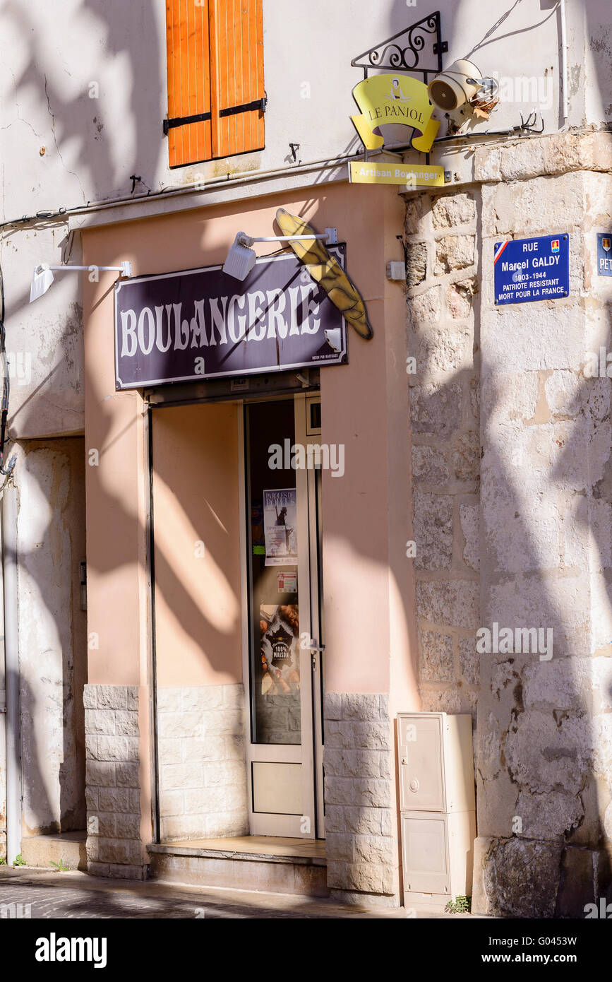 Place Mirabeau Martigues Provence 13 France - Stock Image