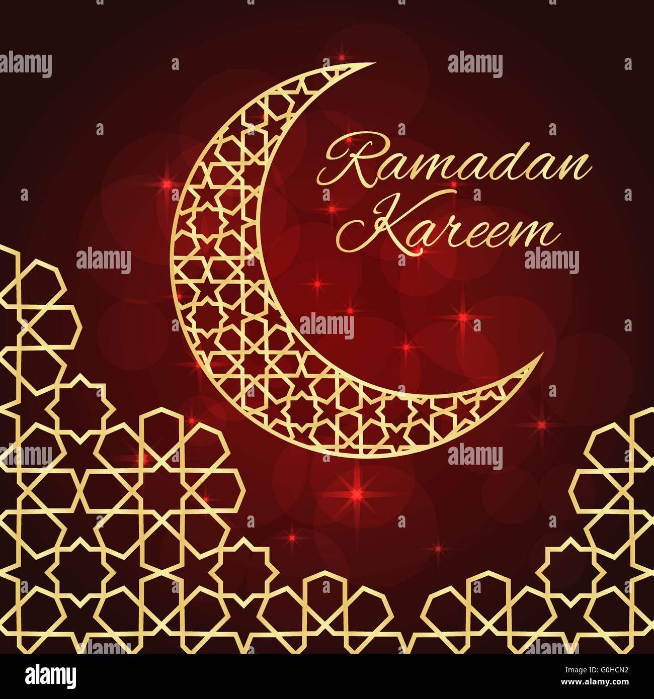 Ramadan greeting card stock vector art illustration vector image ramadan greeting card m4hsunfo Image collections
