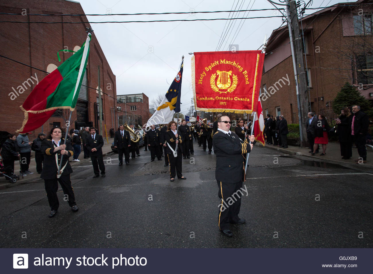 Toronto canada st may holy spirit marching band from