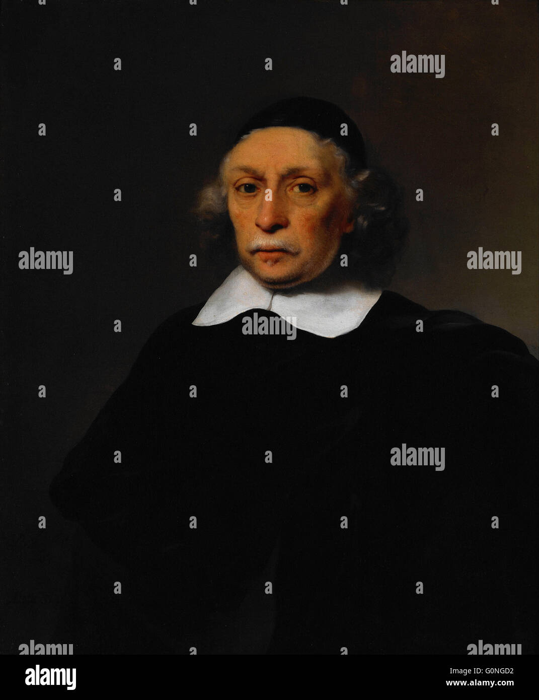 Bol, Ferdinand - Portrait of a Scholar - Stock Image