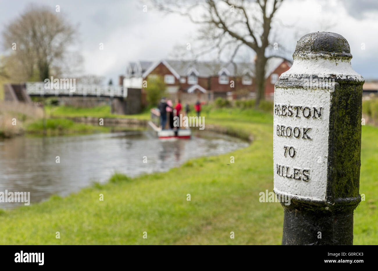 Preston brook canal