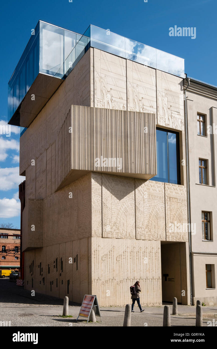 Tchoban Foundation;  Museum for Architectural Drawing in Prenzlauer Berg Berlin Germany - Stock Image