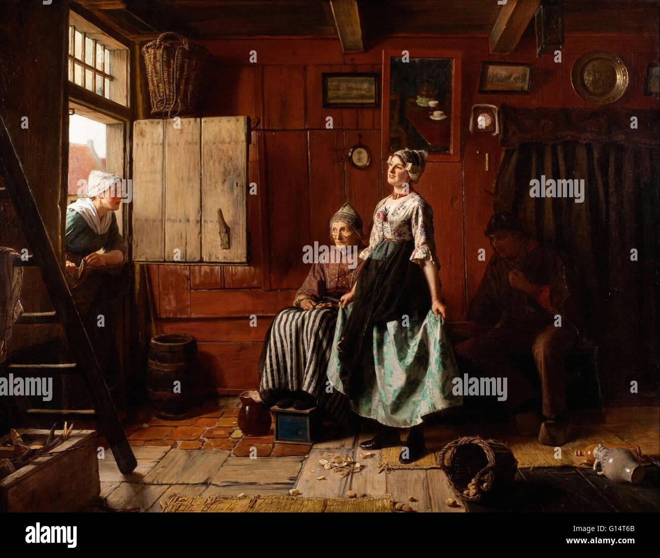 Ferdinand Fagerlin - Surprised - Malmö Konstmuseum - Stock Image