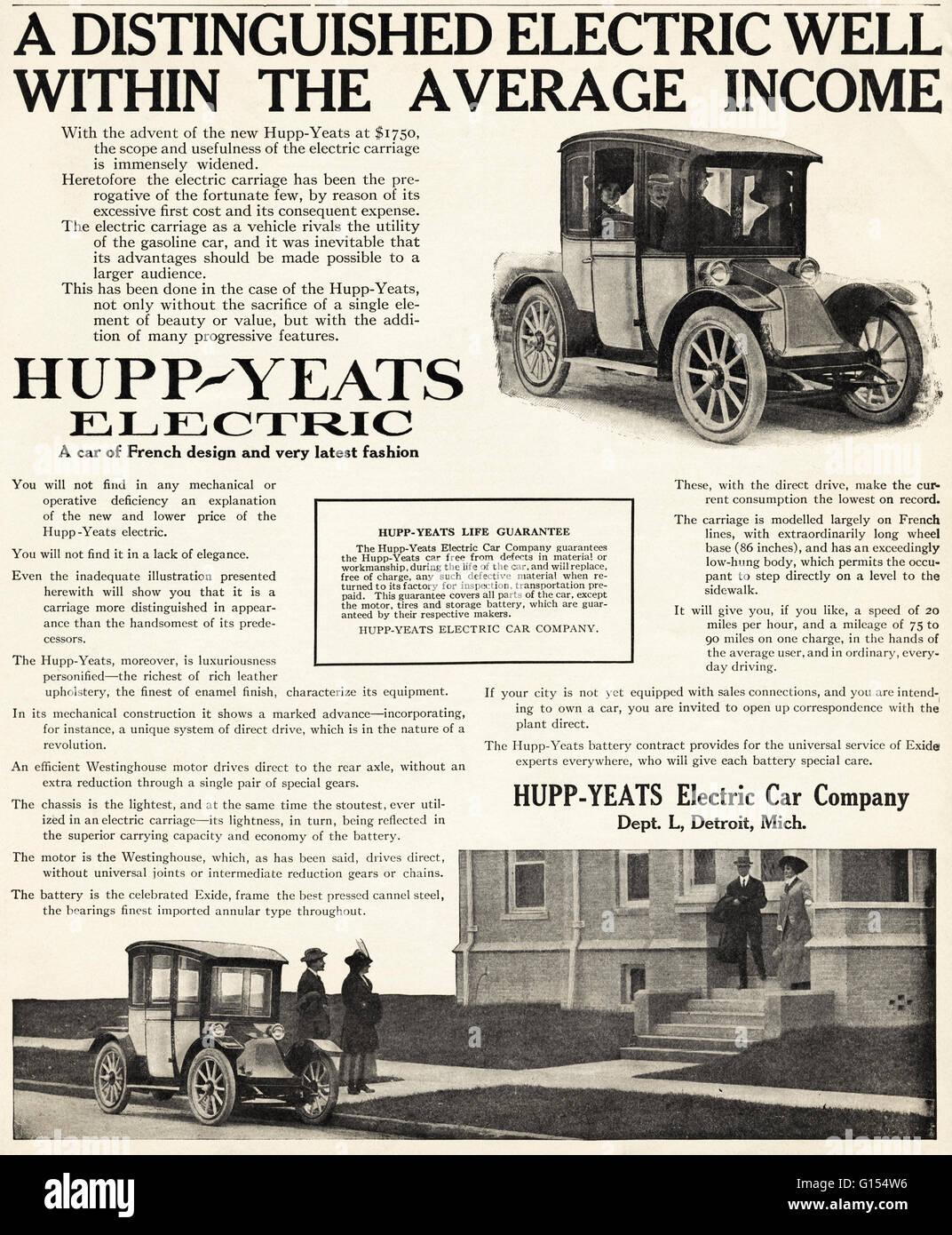 Vintage Electric Car Stock Photos & Vintage Electric Car Stock ...