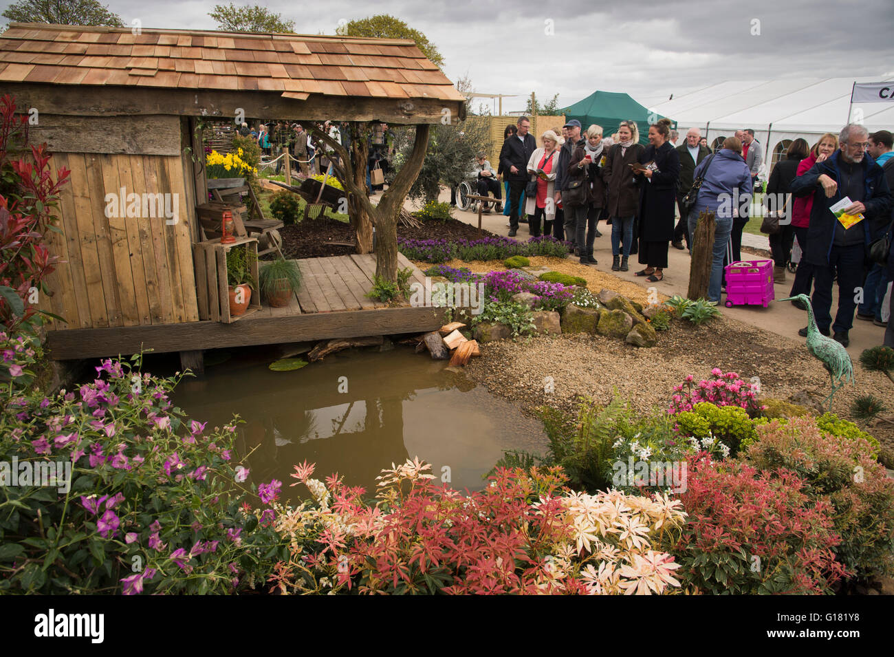 Visitors To The Harrogate Spring Flower Show 2016 North Yorkshire