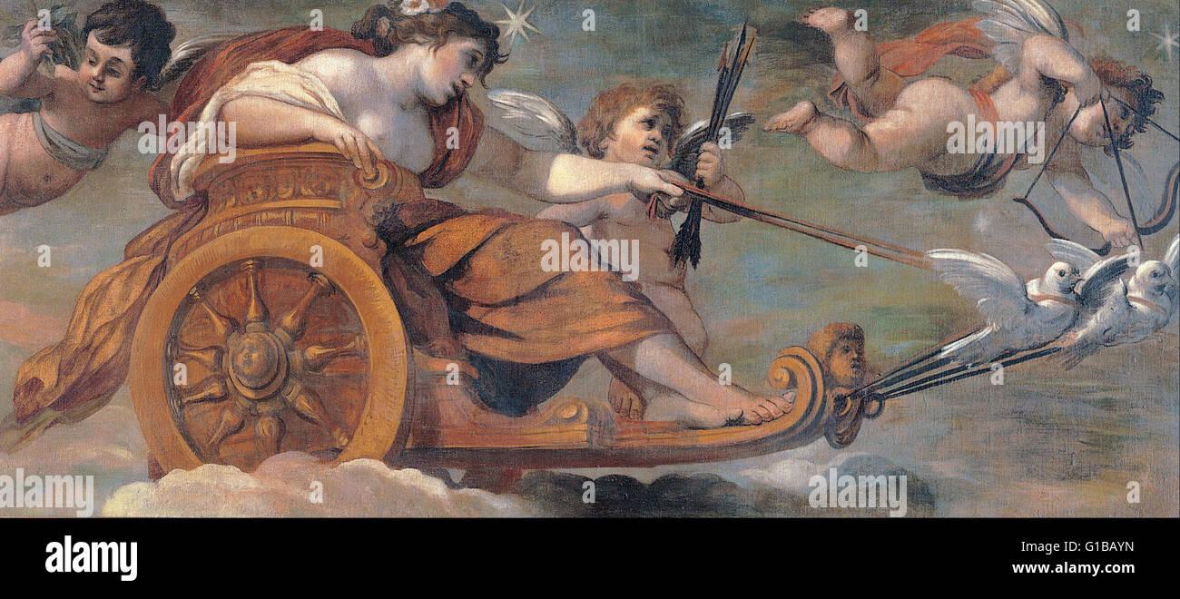 Pietro da Cortona - Chariot of Venus - Musei Capitolini Roma - Stock Image