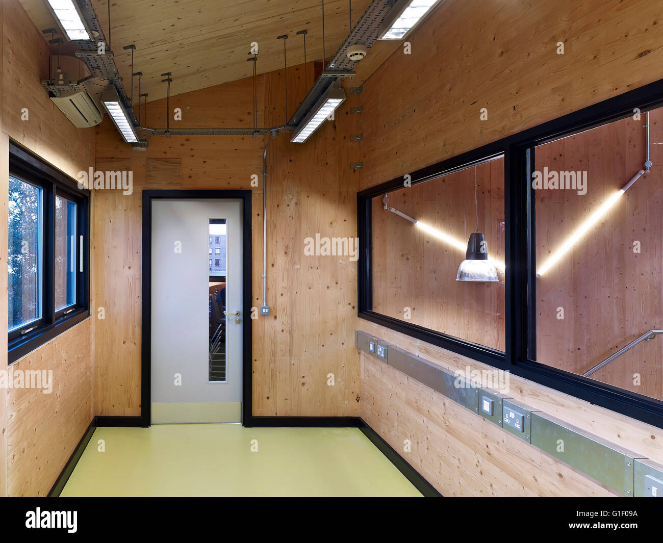 School office interior. graveney school sixth form block london