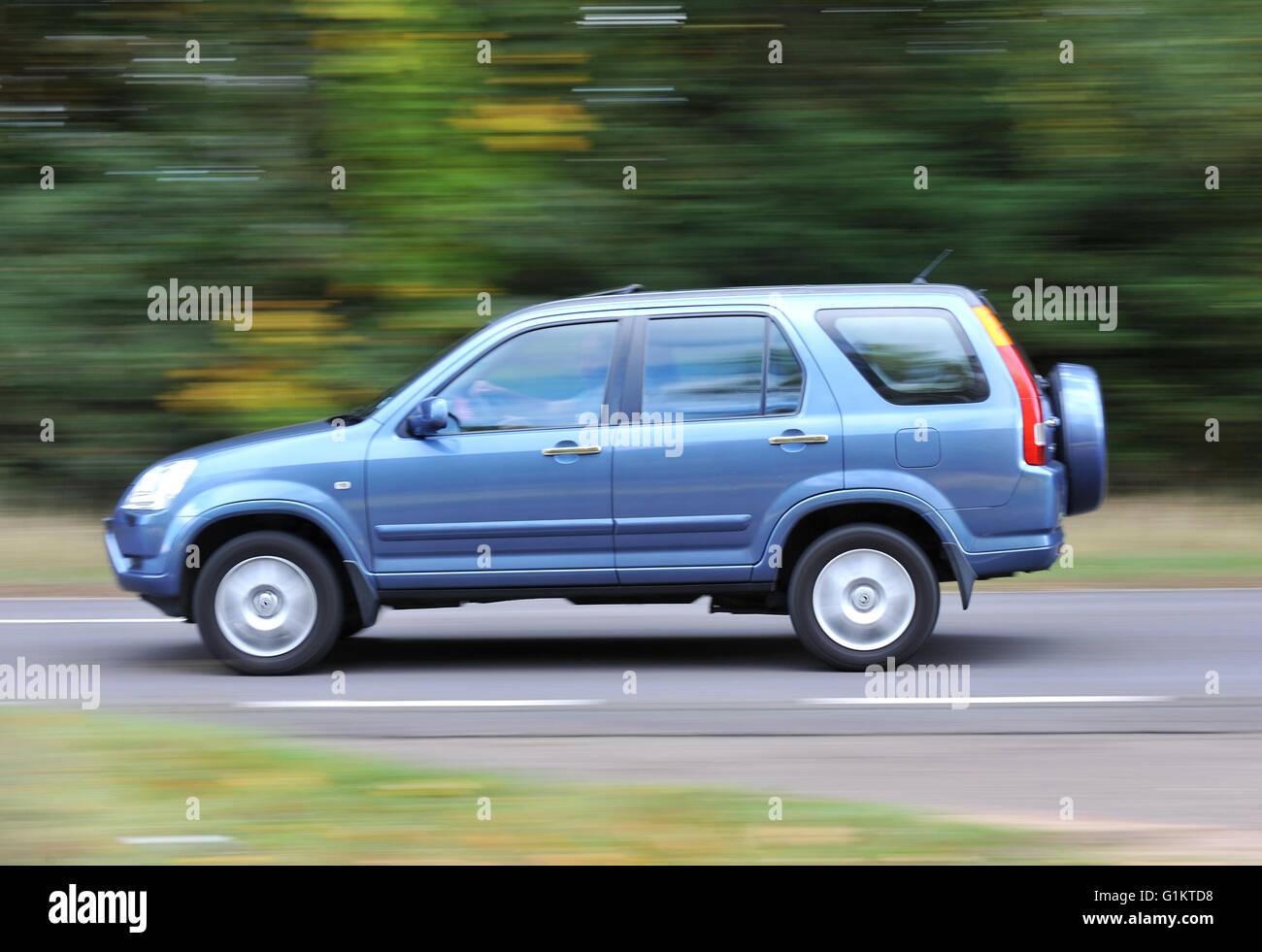 2001 - 2006 Honda CRV SUV car - Stock Image