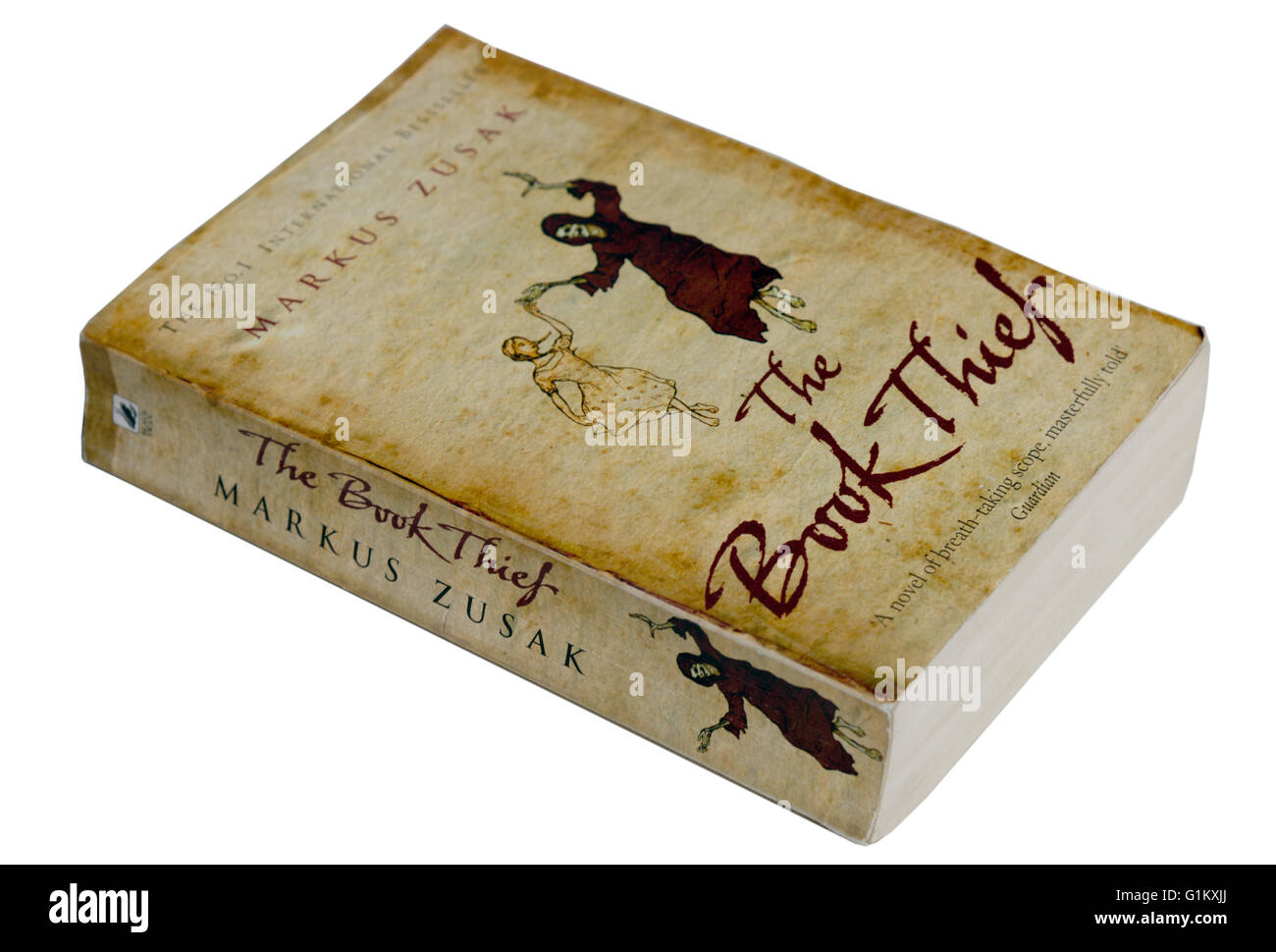 The Book Thief by Markus Zusak Stock Photo