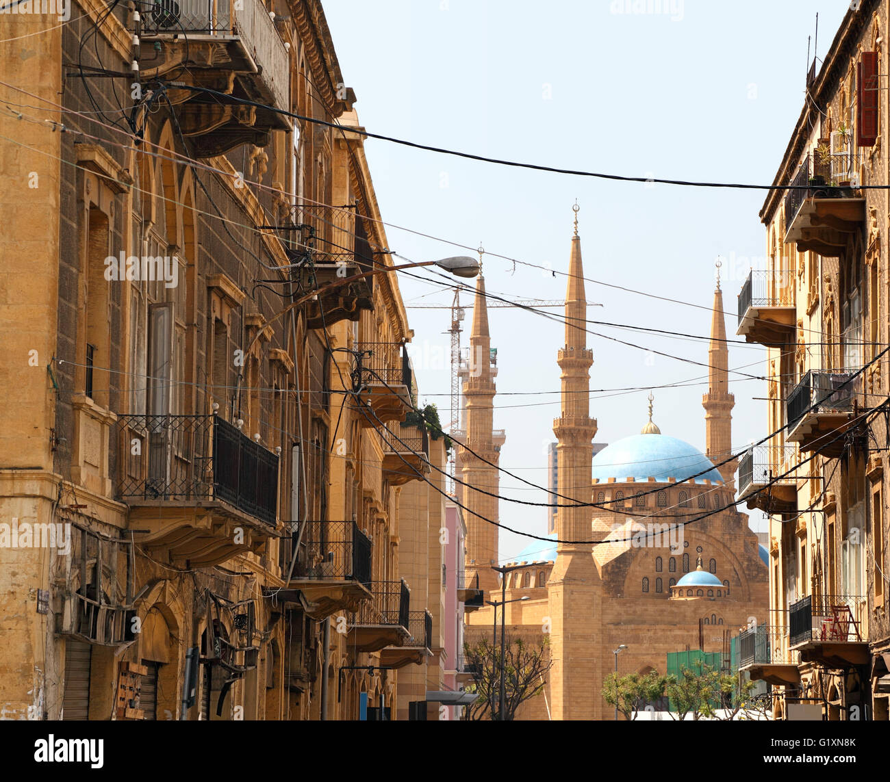 Beirut Architecture - Stock Image