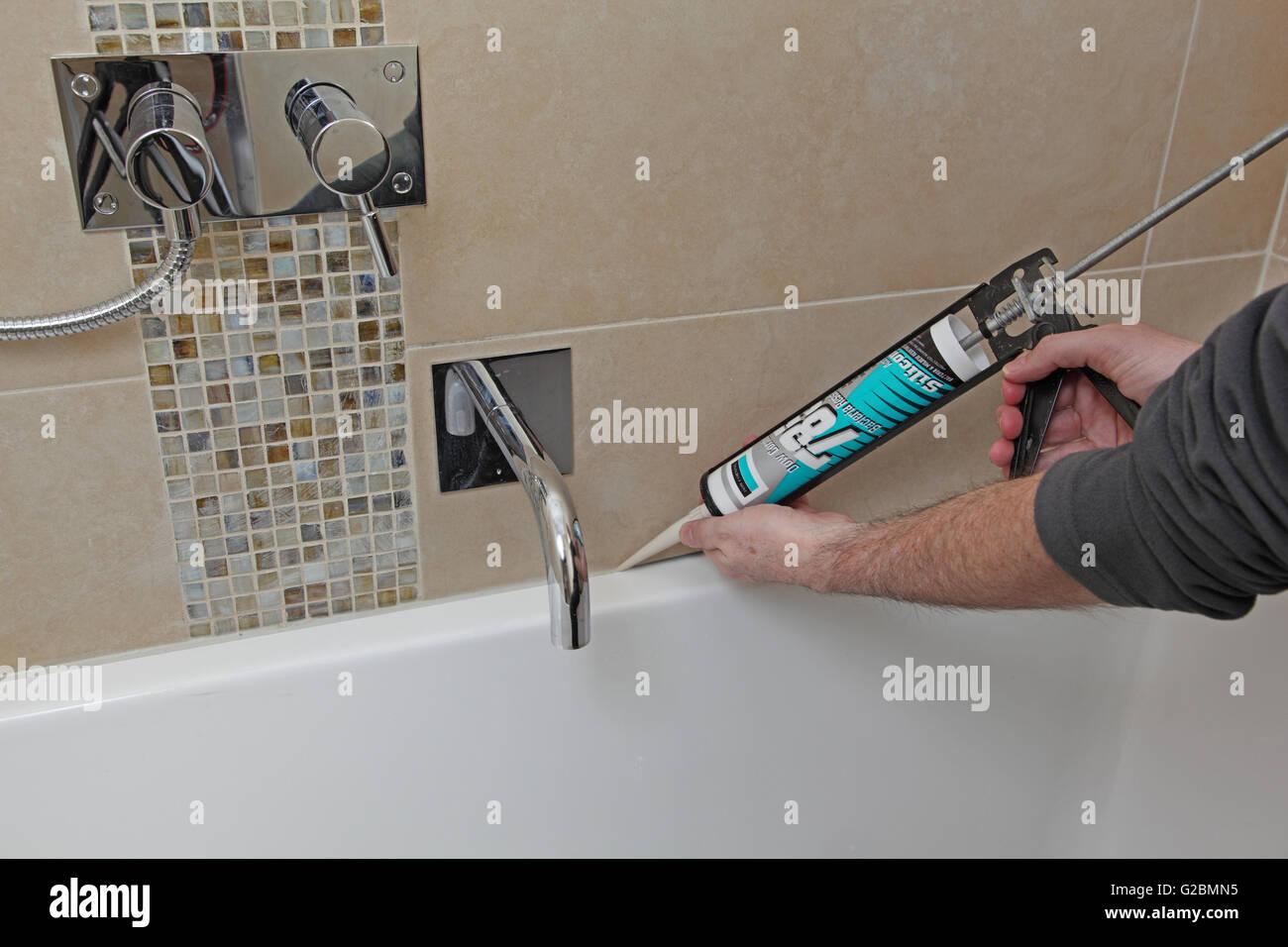 Bathroom Tiles Stock Photos & Bathroom Tiles Stock Images - Alamy