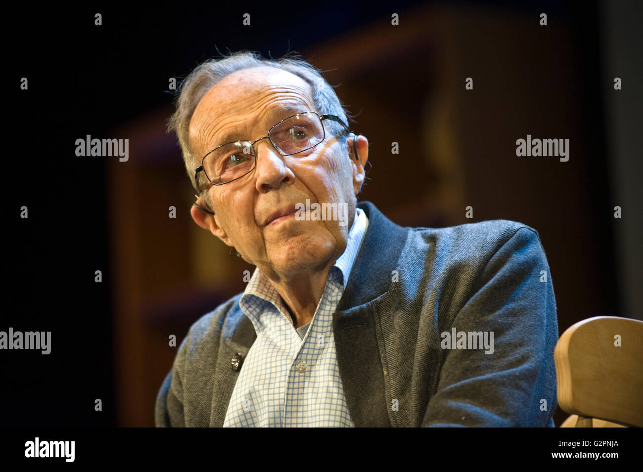 Hay-on-Wye, Wales, UK. 02nd June, 2016. William Perry, former USA Defence Secretary pictured at Hay Festival 2016 - Stock Image