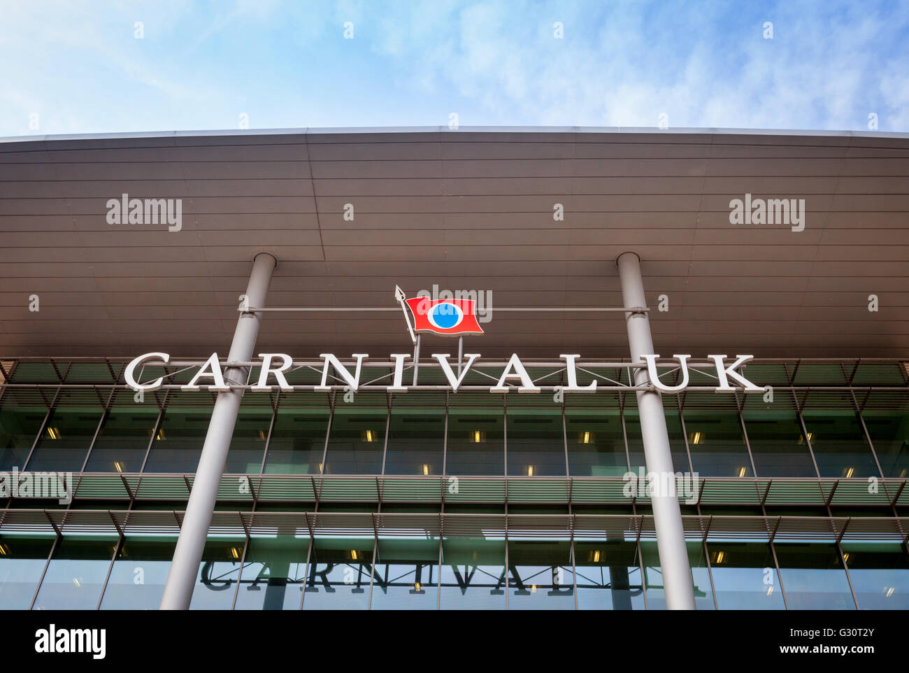 Carnival House in Southampton the UK Head Quarters of Carnival Corporation cruise shipping company - Stock Image
