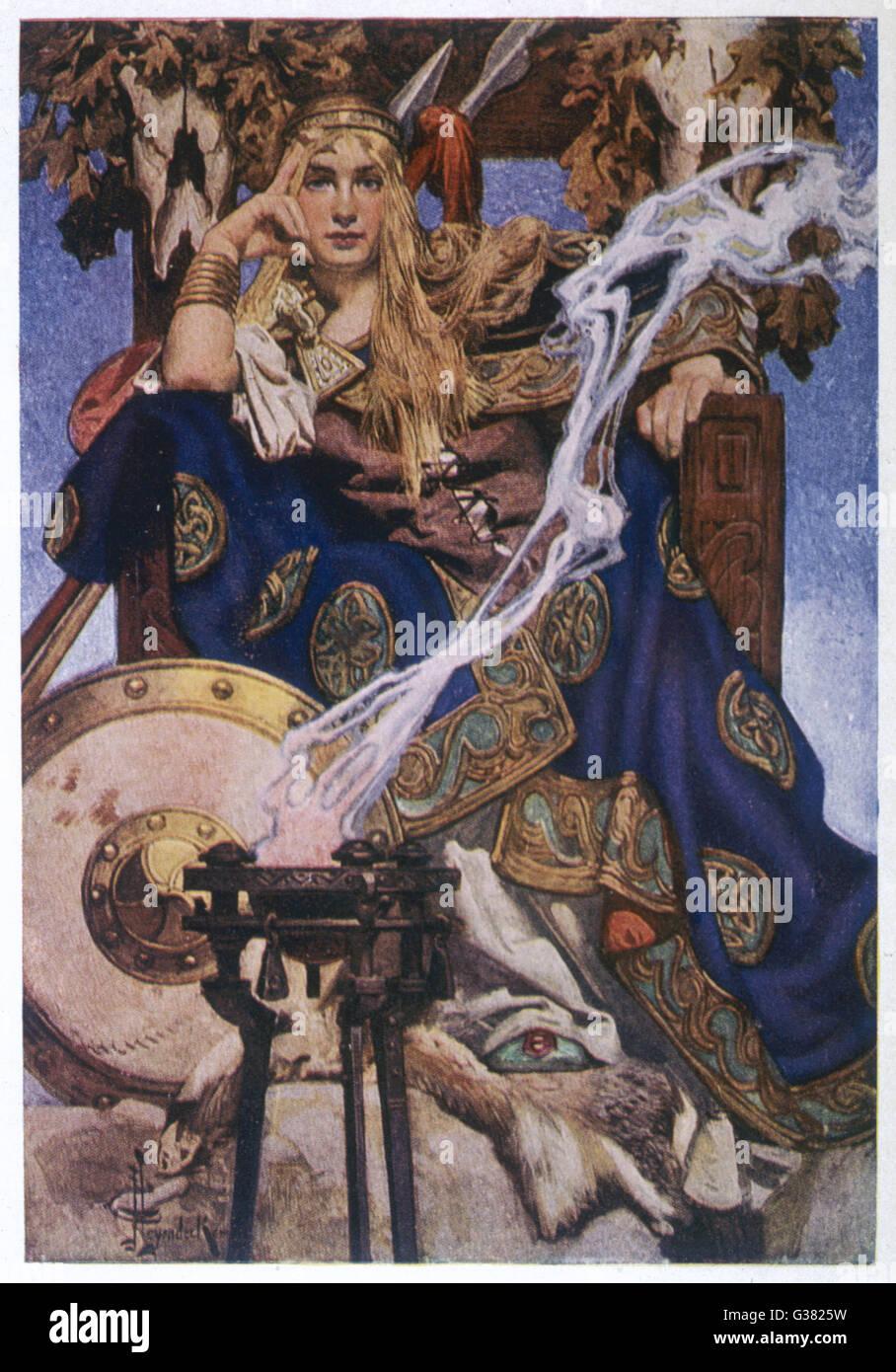 Queen Maeve (Medb)Stock Photo