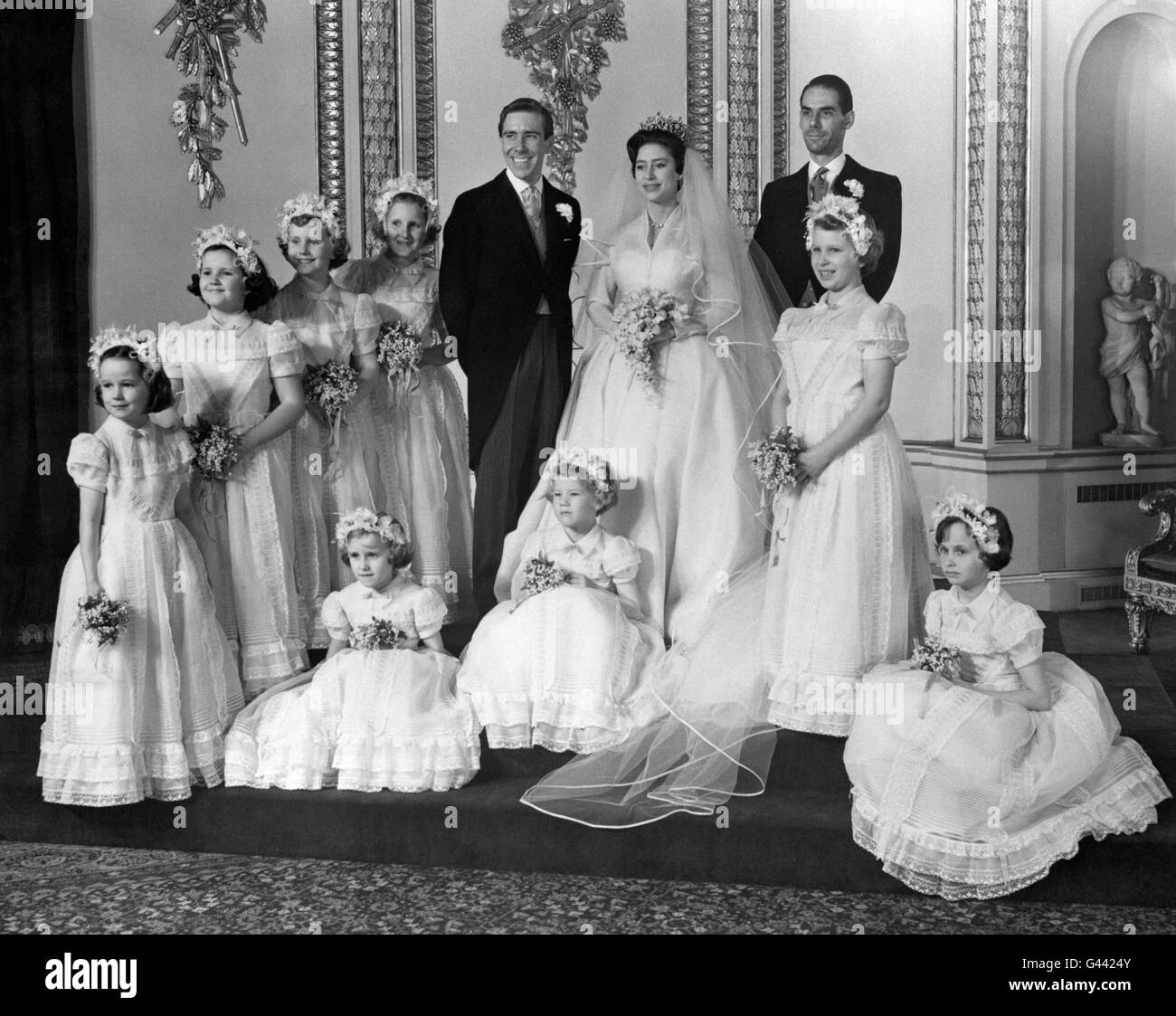 Royalty - Princess Margaret and Antony Armstrong-Jones Wedding Stock ...