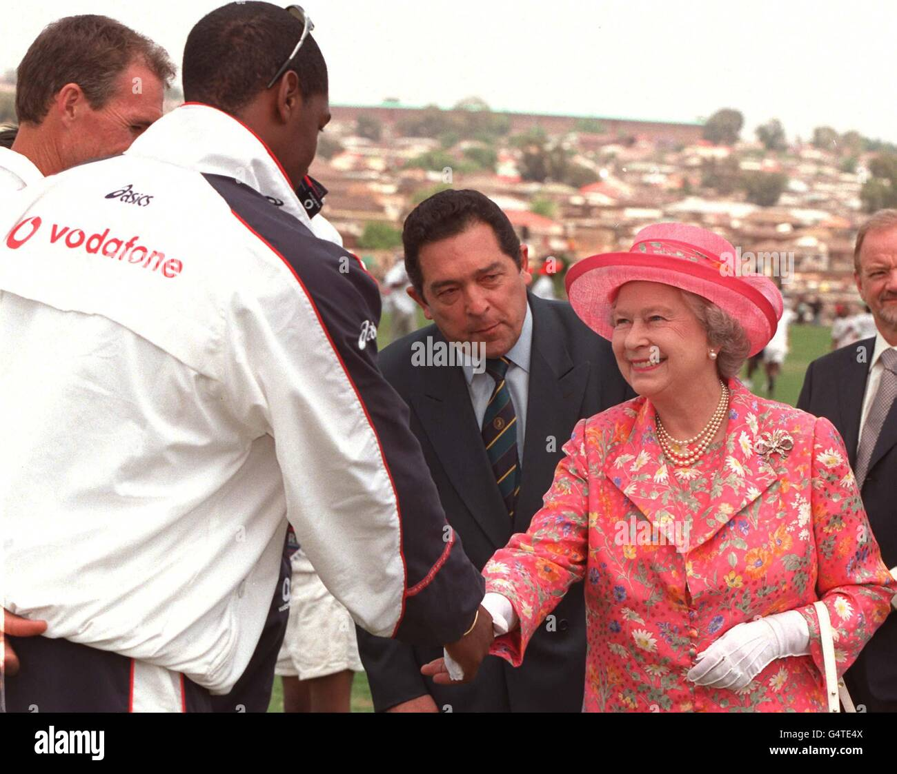 royalty queen elizabeth ii visit to south africa stock photo rh alamy com